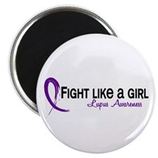 "Fight Like A Girl Lupus 2.25"" Magnet (100 pack)"