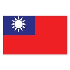 Taiwan Flag Decal