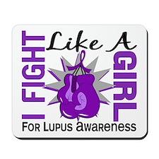 Fight Like A Girl Lupus Mousepad