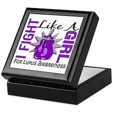 Fight Like A Girl Lupus Keepsake Box