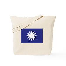 Taiwan Naval Jack Tote Bag