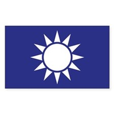 Taiwan Naval Jack Decal