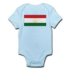 Tajikistan Flag Infant Bodysuit