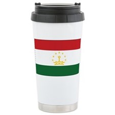 Tajikistan Flag Travel Coffee Mug