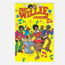 FastWillie Jackson #2 Postcards (Package of 8)