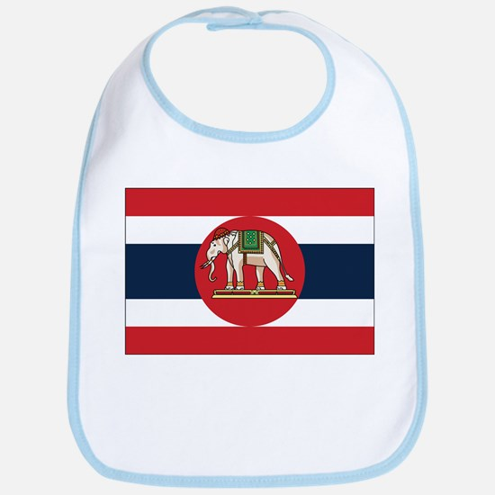 Thailand Naval Ensign Bib