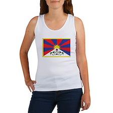 Tibet Flag Women's Tank Top