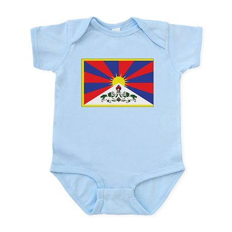 Tibet Flag Infant Bodysuit
