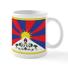 Tibet Flag Small Mug