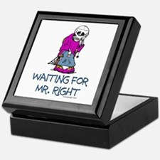 Waiting For Mr. Right Keepsake Keepsake Box