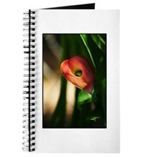 Cute Red calla lily Journal