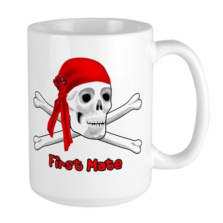 First Mate Large Mug