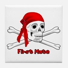 First Mate Tile Coaster