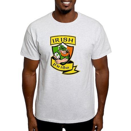 Irish leprechaun rugby Light T-Shirt