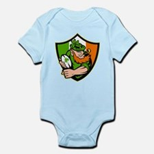Irish leprechaun rugby Infant Bodysuit