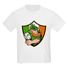 Irish leprechaun rugby T-Shirt