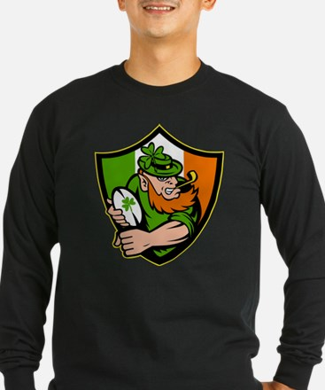 Irish leprechaun rugby T