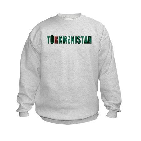 Turkmenistan Kids Sweatshirt