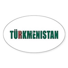 Turkmenistan Decal