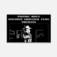 Funny Wounded warriors Rectangle Magnet