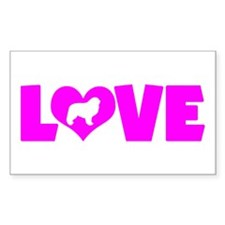 LOVE GREAT PYRENEES Decal