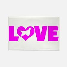 LOVE GORDON SETTER Rectangle Magnet (10 pack)