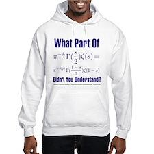 What part of Riemann's? Hoodie Sweatshirt