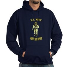 U.S. Navy Deep Sea Diver Hoodie