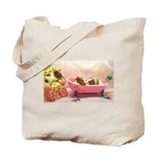 Baby Pig Bath Time Tote Bag
