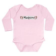 Unique Madyson Long Sleeve Infant Bodysuit