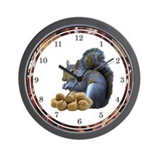 Squirrel Lover Wall Clock