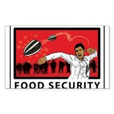 Stop GMO Foods, Food Security Decal
