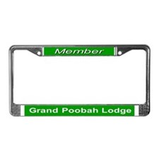 Grand Poobah Lodge License Plate Frame
