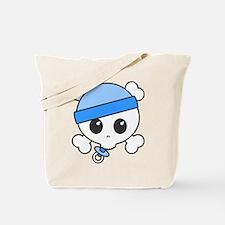 Baby Boy Skully Tote Bag