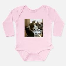 Open The Door? Long Sleeve Infant Bodysuit