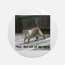 Off of My Lawn!! Ornament (Round)