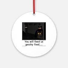 Gooshy Food Ornament (Round)
