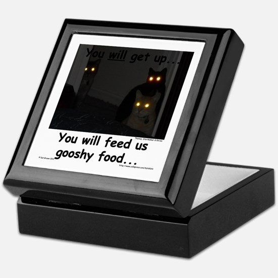 Gooshy Food Keepsake Box