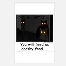 Gooshy Food Postcards (Package of 8)