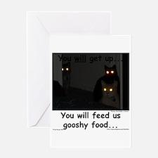 Gooshy Food Greeting Card