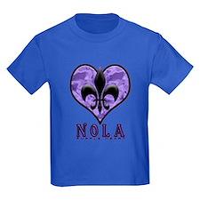 NOLA Purple Heart T