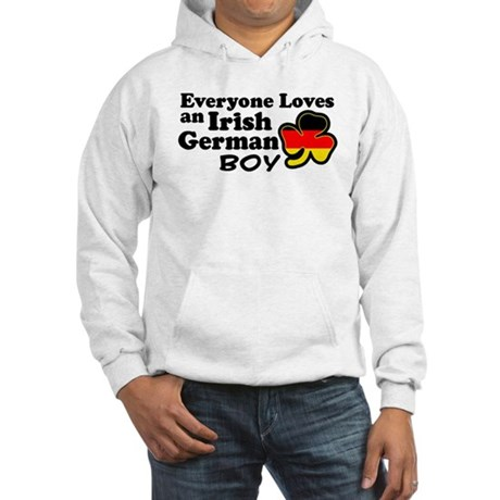 Irish German Boy Hooded Sweatshirt