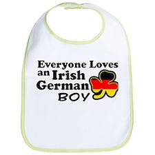 Irish German Boy Bib