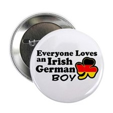 "Irish German Boy 2.25"" Button"