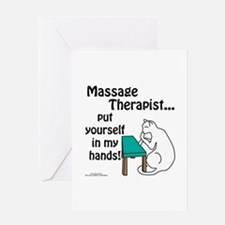 Massage Therapist Greeting Card
