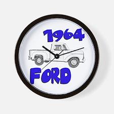 1964 Ford Truck Wall Clock