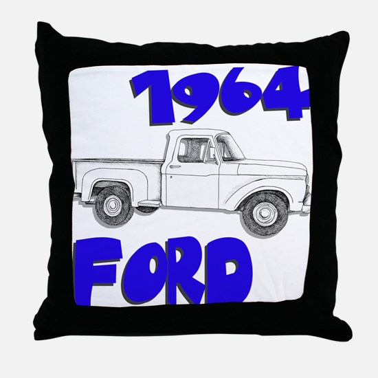 1964 Ford Truck Throw Pillow