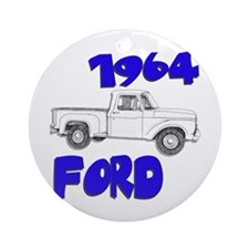 1964 Ford Truck Ornament (Round)