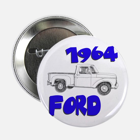"""1964 Ford Truck 2.25"""" Button"""