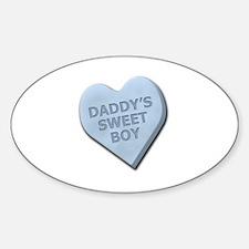 Candy Heart Sticker (Oval)